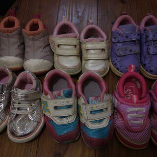 ベビー靴 ベビースニーカー 大量 キッズシューズ キッズ靴 キッ...