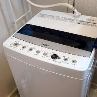 洗濯機2019 ハイアール4.5説明書有り