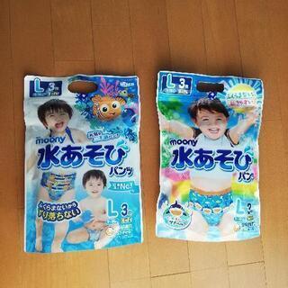 ムーニー 水あそびパンツ 男の子用 L 3枚×2セット+紙…