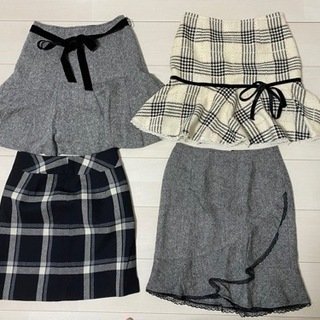 冬物スカート☆4枚セット