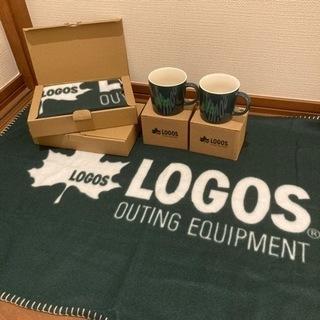 【新品】LOGOS ブランケット2、マグ2