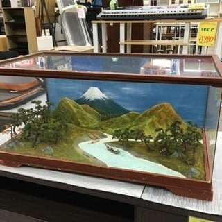 富士山の見える ジオラマ