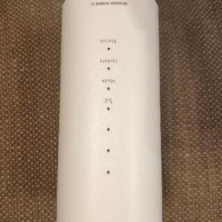 【ネット決済・配送可】WiMAX HOME 01  ホームルーター