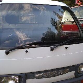 継続車検可能 4WDハイゼット 機関好調 AC 5速