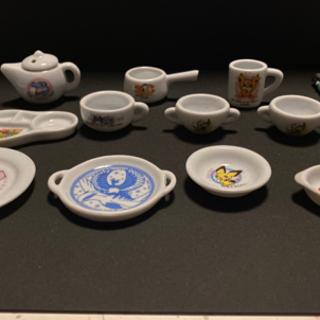 ミニ陶器食器類セット  ポケモン