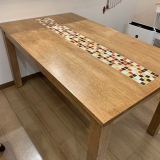 (取引決定)ダイニングテーブル TESTA 1350