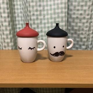 パパママカップ セットで used コーヒーカップ