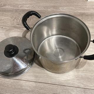 パスタ茹で 深鍋