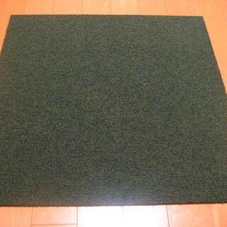 日本製タイルカーペット厚み6.5㎜・1枚180円・在庫40枚(3...