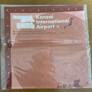 関西空港 滑走路ウォーキング記念バンダナ
