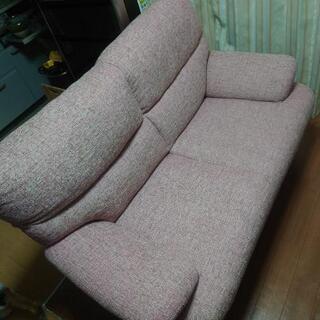 二人掛けソファー、差し上げます