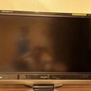 シャープ AQUOS 37インチ 液晶TV