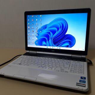 最新Windows11 ☆core i7+SSDで快適☆ NEC...