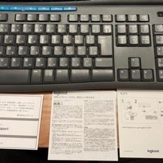 ロジクール ワイヤレスキーボード