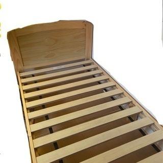 【お値下げ】シングルベッド 2台