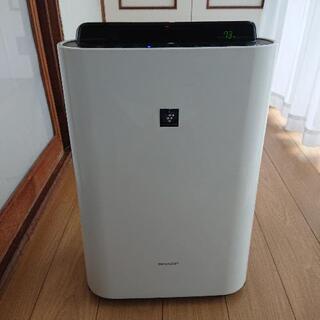 SHARPプラズマクラスター加湿機能付き空気清浄機。