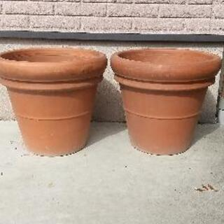 植木鉢 2点
