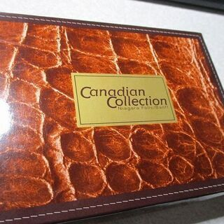 カナダBRAMA製鹿革財布