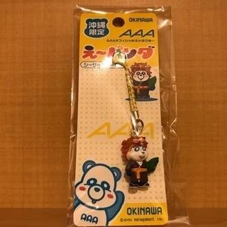 AAA えーパンダ 沖縄限定キーホルダー