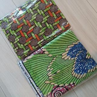 アフリカ綿布 2組