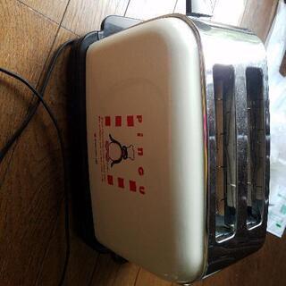 【売ります】未使用 食パン専用自動トースター