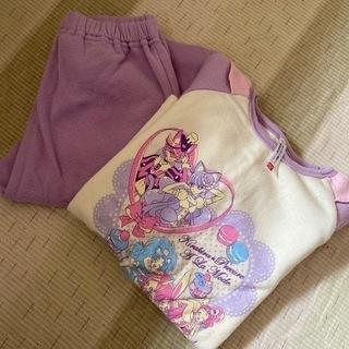 120cm女の子パジャマ