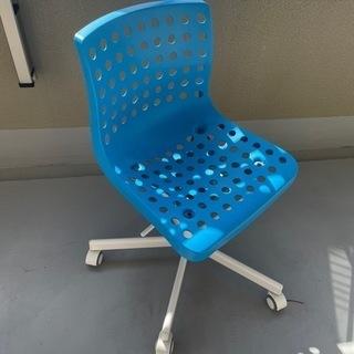 子供椅子 ブルー