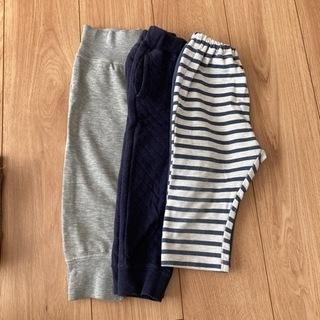 子供やわらか素材ズボン 90〜100 3枚セット