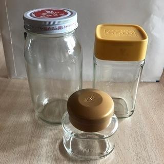 インスタントコーヒーなどの空き瓶