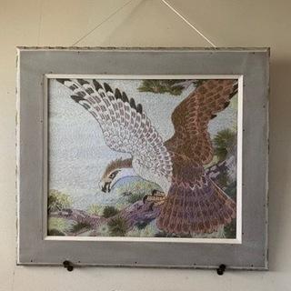鷹の壁掛け