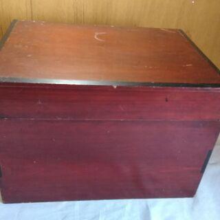 レトロ 木製 収納 ビンテージ 木箱 横