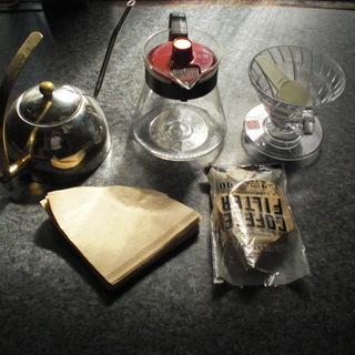 中古 コーヒー・ドリップセット