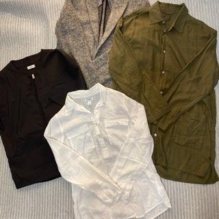 メンズブランドジャケット、シャツ4点セット