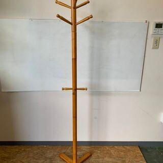 ポール コート 帽子ハンガー ラック 木製 スタンド.