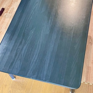 折りたたみ式ファッションテーブル75黒