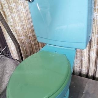 2 TOTO 便器 タンク トイレ
