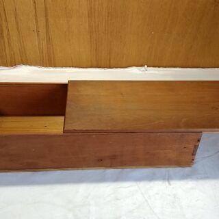 大正時代 レトロ 木製 収納 BOX ビンテージ 木箱 道具箱 横