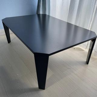 格安!美品 ローテーブル ブラック 黒