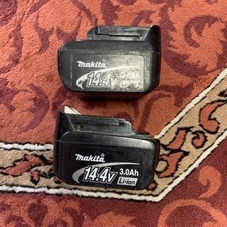 マキタ  バッテリー 14.4v 2個セット 純正品