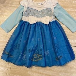 ハロウィン アナ雪 エルサ 90  ドレス