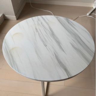 大理石風、サイドテーブル