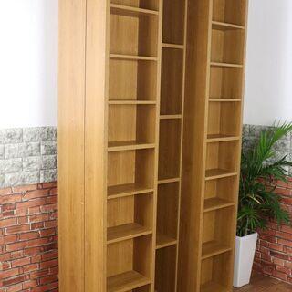 【定価6.3万】アニマートスライド書棚 オープン式 本棚 …