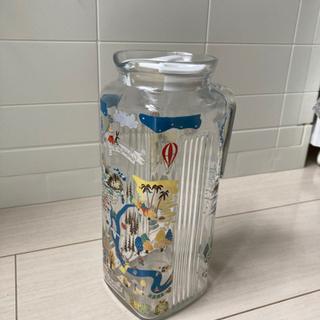 ムーミン ガラスポット ガラスピッチャー