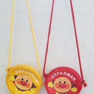 アンパンマン バック  赤、黄色