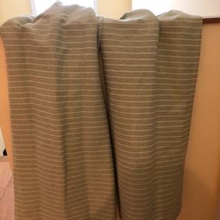 防炎カーテン遮光2級 ニトリ 長さ110横幅100✖️2枚