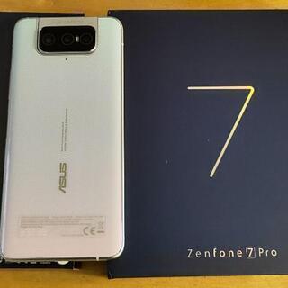 SIMフリー zenfone7 256GB 美品保証有り ゼンフォン