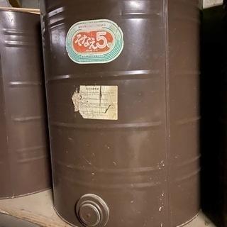大型ドラム缶