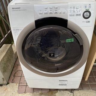 シャープのドラム洗濯機