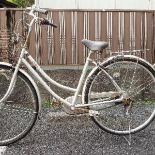 【取引中】自転車 27インチ 内装3段 LEDオートライト…