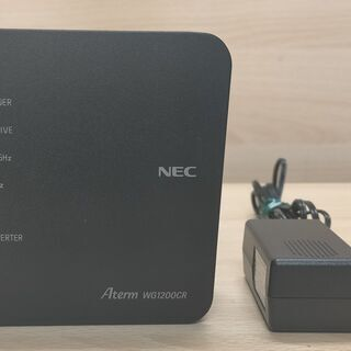 【ネット決済・配送可】***NEC無線LANルーター Aterm...
